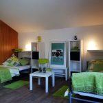 Hanau Zimmer mit Schräge